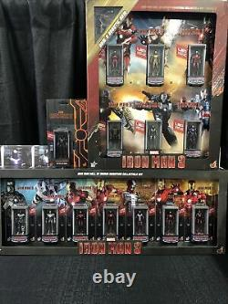 Hot Toys Miniature Figure Iron Man Hall Of Armor All 14 Units Full Limited Set
