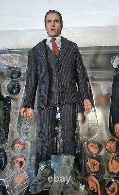 Hot Toys Mms236 Used Full Set Batman Bruce Alfred Armory Dark Knight Figure