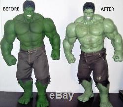 Hulk 1/6 Hot Toys KO (Custom made / repainted)