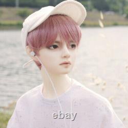 Hwayoung Pink Wig Sport Boy BJD Doll 1/3 Full Set Makeup Toy Present Figure