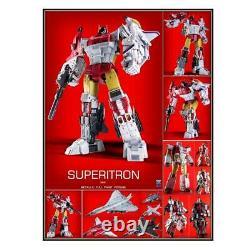 In Arrivo Zeta Toys Zb-06 Superion Superitron Metallic Deluxe Fullset Nuovo Zb06
