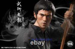 In Stock DJC Way of the Dragon 1/4 Bruce Lee Action Figure Model Full Set Toy Ne