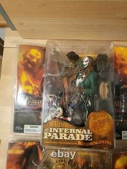 Infernal Parade, Mcfarlane Toys, Clive Barker, New Boxed full set of 6