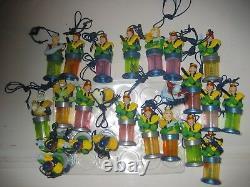 Judge Dredd Bubble Buddies 24 Figures Gum Unopened Full Box Rare Toy Set