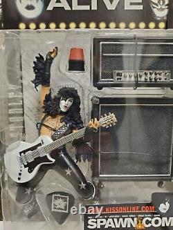 KISS ALIVE McFarlane Toys 2000 Action Figures FULL SET OF 4 NEW SEALED