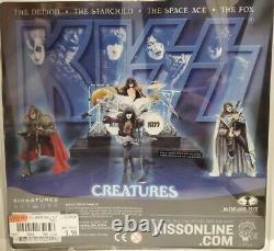 KISS Creatures Of The Night 2002 McFarlane Toys Action Figures FULL SET NIB