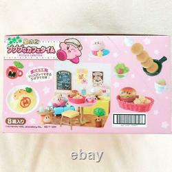 Kirby Super Star Kirby's Cafe time Full set of 8 Miniature Game Toy Re-ment New