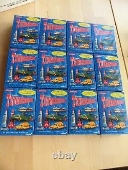 Konami Classic Thunderbirds Series Full Set x12 Sealed Boxes 2004 & Orginal Box