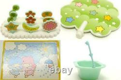 Little Twin Stars SANRIO tsukino house moon toy special full set Japan 1996/2003