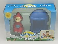 Lot 4 Teletubbies Bathtub Bath Toy Full Set 1998 Playskool Rare Hard To Find Vtg