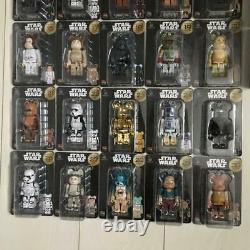 MEDICOM TOY Star Wars Bear Brick Complete Set of #1-30 + 31-37 Pair Box Full set