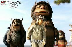 MEDICOM TOY Where the Wild Things Are Kaiju Monster 7 Figure Full set Japan D7