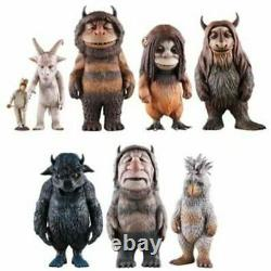 MEDICOM TOY Where the Wild Things Are Kaiju Monster Full set of 7 On Sale