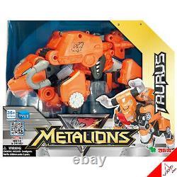 METALIONS LEO, SCORPIO, ARIES, TAURUS -Intergration Transformer Toy Robots Full Set