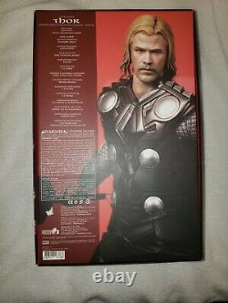MMS 146 Thor Hot Toys 1/6 Action Figure Marvel First Movie Chris Hemsworth