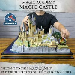 MOULD KING 22004 Creator Toys Full Hogwarts Castle Set Building Blocks 6778Pcs
