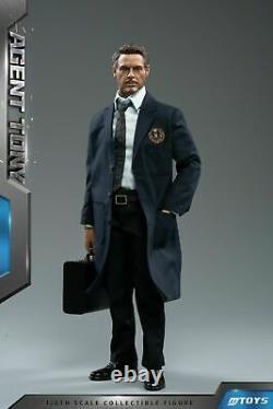 MTOYS 1/6 MS015 Avengers Iron Man Tony Male Full Set Action Figure Doll Toy Gift
