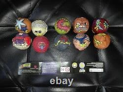 Madballs Mini Squirters Full Set Of 10 Sip Toys 2009