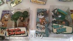 McFARLANE TOYS HANNAH BARBERA full complete set of 7 figurines SERIES 2