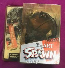 McFARLANE TOYS SPAWN SERIES 26 ART OF SPAWN ACTION FIGURE FULL SET