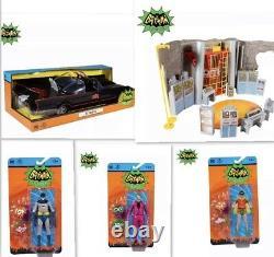 McFarlane Toy DC Retro Full 66 Set- Batman X5 Action Figure Pre Order NEW