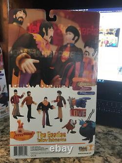 McFarlane Toys 1999 The Beatles Yellow Submarine Full Set, new, boxes unopened