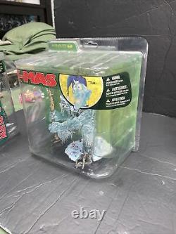 Mcfarlane Toys Twisted X-MAS Full Set Of 6 Sealed 2007 Santa Jack Frost Snowman