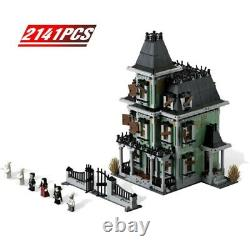 Monster Fighters Haunted House Full Set 2141 PCS Building Blocks Teen FREE Toys