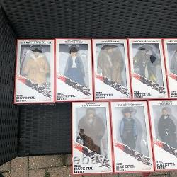 NECA hateful Eight- REEL TOYS- Full Set 9 figures incl. Exclusive Quentin