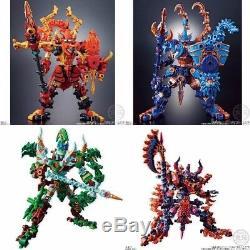 NEW Bandai Mugen Saga Mugen Ashura & Mugen Guardian Full Complete Set Candy Toy