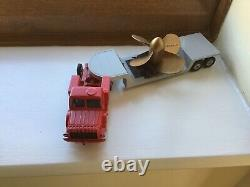Near Mint Dinky Toys 986 Mighty Antar + Propeller Full Set Vintage Antique Lot