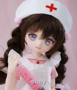 New 1/4 BJD Resin doll Nude Anime Figurine Full-Set MSD Resin Toy Gift For Girls