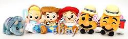 New Disney Parks Wishables Toy Story Mania! Series Full 6 Plush Set With Variant