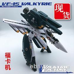 New Valkyrie Factory 1/60 Macross ARCADIA VF-1S & SSP Backpack Full Set Toy Ko