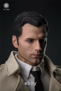 PU STUDIOS 1/6 Scale Justice Reporter Superman Henry Cavill Figure Toy Full Set