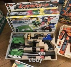 Power Rangers Train ToQger DX Robo Full Set Megazord Figure Toy BANDAI Japan