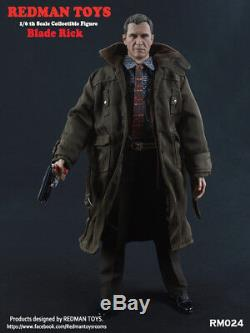 REDMAN TOYS RM024 Blade Rick 1/6 Scale Male Full Sets Hot Action Figure Toy
