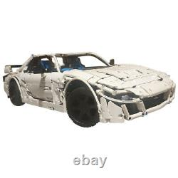 RX7 FD Sports Car with Full Interior 18 Scale Model Building Blocks Toys Set