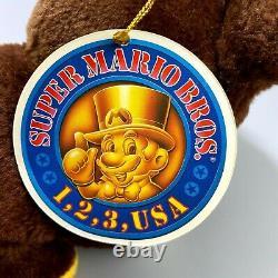 Rare 1993 Super Mario Collection Full Set of 8 Nintendo Plush Toy vintage