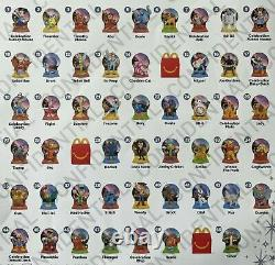 Rare! 2021 FULL SET of 50 Toys WALT DISNEY WORLD 50th ANNIVERSARY McDonalds