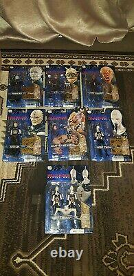 Rare Hellraiser Series One 1 Necca Reel Toys Full Set Including Wire Twins