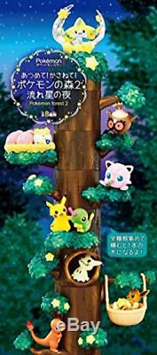 Re-Ment RE-MENT Pokemon Forest 2 Shokugan Figure Candy Toy Complete Full Set 8