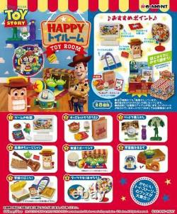 Re-ment Toy Story Happy Toy Room Rare Full Complete 8 Set
