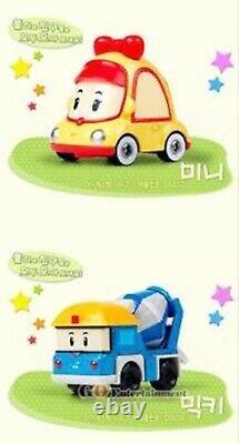 Robocar Poli Diecast CAR SERIES 27-Mini Cars FULL SET Metal Figure Toy