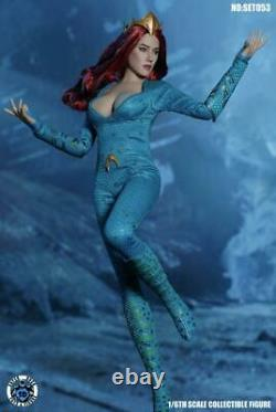 SUPER DUCK 1/6 SET053 Queen Mera Clothes set For 12 Female Body Phicen USA