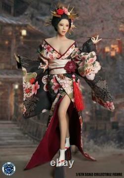 SUPER DUCK SET052 1/6 JAPANESE Geisha GIRL SET FOR fit 12'' PHICEN FIGURE USA