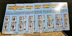 Sectaurs Warriors of Simbion Full set of 6 Wave 1 Zica Toys Dargon 1\18 scale