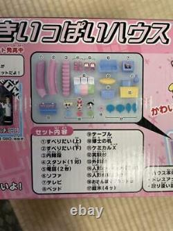 Sega Toys Powerpuff Girls Figure Set Girls Nice Full House Collection Used Japan