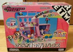 Sega Toys Powerpuff Girls Figure Set Girls Nice Full House Collection japan Used