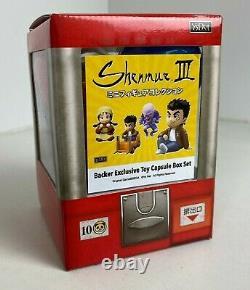 Shenmue 3 Kickstarter Backer Exclusive Toy Capsule Figures (Gashapon) Full Set